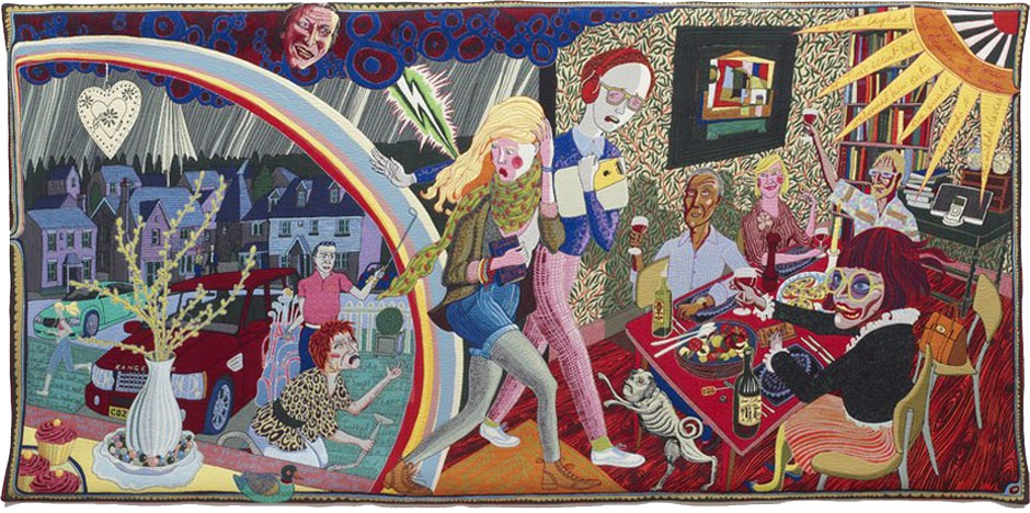 Grayson Perry's Middle Class tapestry