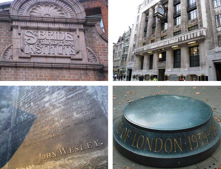 Fleet Street area montage